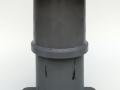 105mm Crash Buffer min. 150kJ - no plastic deformation
