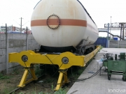 Verifying compatibility of old tank wagons with crash buffers