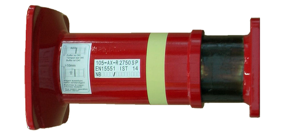 105 mm Crash Buffer 400 kJ (UIC)