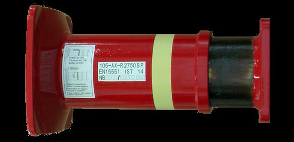 105 mm Crash Buffer 400 kJ (UIC)